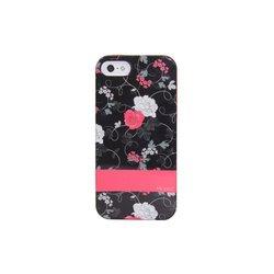 Mrked Dark Floral Hybrid Case For iPhone 5/5S