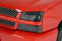 Westin Automative Wade Smoke Tint Light Guard Headlight Cover - Pair