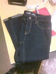 Cheroke Super Skinny Crop Jeans - Dark - Size: 10