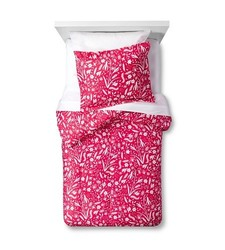 Pillowfort Floral Festival Comforter Set - Red - Size: Full/Queen