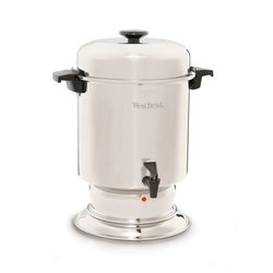 West Bend 55 Cup Commercial Coffee Urn - Stainless Steel