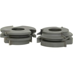 Grizzly C2176 6-Piece Stile and Rai Length Set, Ogee, 1-1/4-Inch Bore
