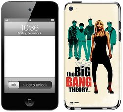 Zing Revolution The Big Bang Theory Premium Vinyl Adhesive Skin for iPod touch 4G, Graphic
