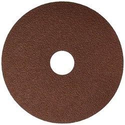 United Abrasives/SAIT 51245 Fiber Disc 8S 4-1/2 X 7/8 60X Bulk Disc, 100 Pack