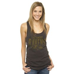 NFL Women's Baltimore Ravens Touchdown Tank Top - Heathered Gray -Size: XL