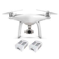 Dji: Phantom 4 With 2 Extra Battery Bundle
