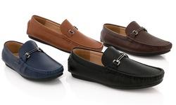 Franco Vanucci Men's Casual Loafer 426-4 - Navy - Size: 13