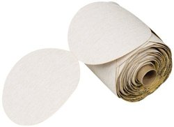 "3M NX PSA Paper Aluminum Oxide D/F Disc Roll - 5"" Diameter - 100 Roll"