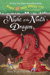 """Mary Pope Osborne by """"Night of the Ninth Dragon"""" Hardcover"""