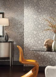 York Wallcoverings 56 sq. ft. Wild Thing Prepasted Wallpaper - Brown