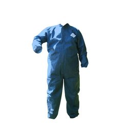 Hospeco DA-SM223 ProWorks Dry Particulate and Splash Protection Coverall, Disposable, Elastic Cuff, Blue, 2X-Large (Case of 12)