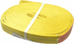"Lift-All 2"" x 16' 2-ply Polyester Web Endless Sling - Yellow"