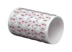 "3M 4936 VHB Adhesive Tape, 1"" Diameter Circles (roll of 250)"