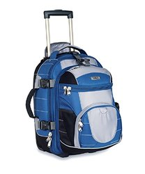 High Sierra Travel Bags: Wheeled Backpack/Blue