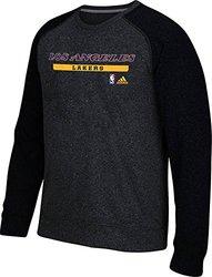 adidas Men's Los Angeles Lakers Cut & Paste climawarm Fleece