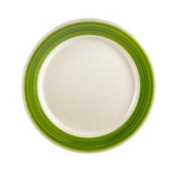 """CAC  Rainbow Plate 12"""" - Green - 12/Case"""