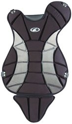 Champro Little League Chest Protector (Black, 14.5-Inch Length)