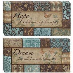 Head West pc. Hope - Dream Wall Art Set 2, Multi/None