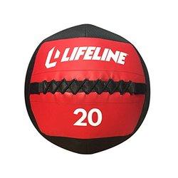Lifeline Wall Ball, Red/Black, 10 lb.