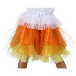 Candy Corn Kids Deluxe Glitter Skirt