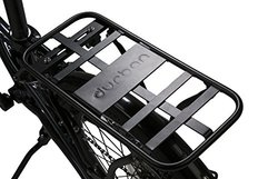 Durban Mounted Bicycle Back Rack - Black