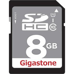 Gigastone 8 GB Class 10 High Speed SD Memory card