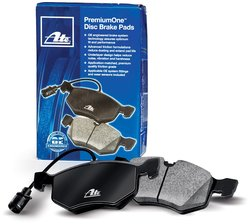 ATE AT375 Replacement Premium One Disc Brake Pad Set