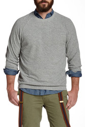 Jachs Men's Pullover Sweatshirt - Grey - Size: XL