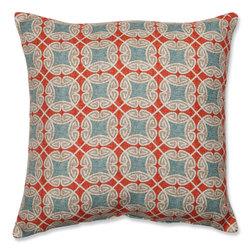"""Pillow Perfect 18"""" Ferrow Throw Pillow - Multi"""