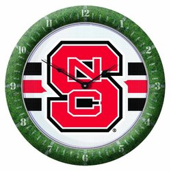 NCAA North Carolina State Wolfpack Game Clock