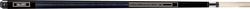 PureX HXT62 Black, Turquoise & White Pool Cue - 18 oz