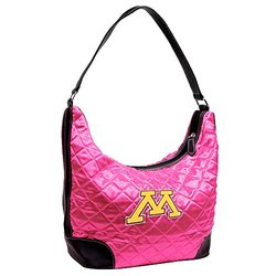 NCAA Minnesota, Pink Quilted Hobo
