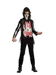 Dreamgirl Boys Junior's No Guts No Glory Costume - Black - Size: Large