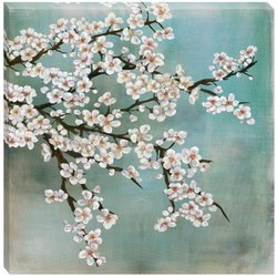Head West Cherry Blossom Wall Art