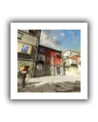 """Art Wall 24""""x24"""" Mediterranean Flat Unwrapped Canvas Art by Cynthia Decker"""
