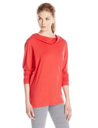 FIG Women's Long Sleeves Tun Top - Rooibos - Size: Large