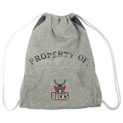 Milwaukee Bucks Hoodie Cinch Bag white