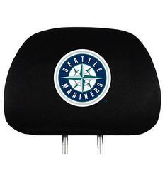 Team Promark MLB Seattle Mariners Headrest Cover - Black