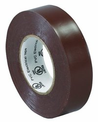 "Box Partners 3/4"" x 20 yds. Brown (10 Pack) Electrical Tape"