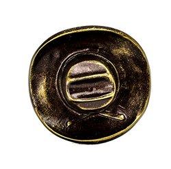 Carpe Diem Hardware 8075-3 Americana Antique Brass Classic Cowboy Hat