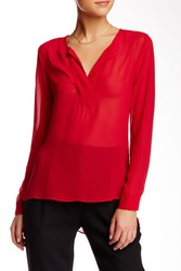 BCBGeneration Women's Long Sleeve Blouse - Rogue - Size: XS