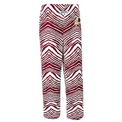 NFL Washington Redskins Boy's Zubaz All Over Print Pant, Youth Large (12/14), Dark Cardinal