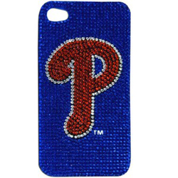 Philadelphia Phillies 4G iPhone Case with Glitz Faceplate