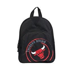 NBA Chicago Bulls Offense Mini Backpack, 12-Inch, Black