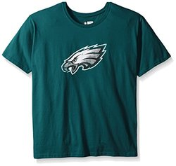 NFL Philadelphia Eagles Women's Short Sleeve Tee - Teal - Size: 4X