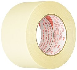 Scotch 72mm x 55m Performance Masking Tape Tan - Case of 12