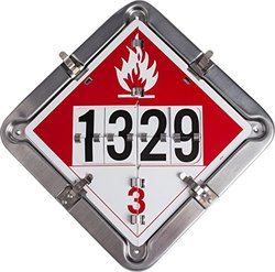 Brady 63214 BULK LIQUID Aluminum PlaCard Signs