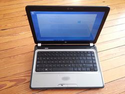 "HP Pavilion 14"" Laptop 2.3GHz 3GB 320GB Windows 10 (LF153UAR#ABA)"