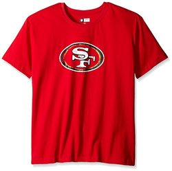 NFL San Francisco 49ers Women's Short Sleeve Printed TShirt - Red - Sz:4X