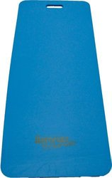 AeroMAT Lightweight 1/2-inch Thick Fitness Mat for Floor Exercise - Blue